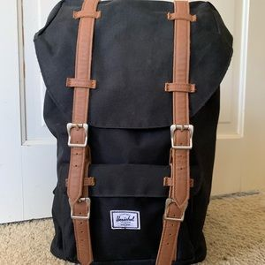 Herschel Supply Co. Retreat Black & Tan Backpack
